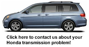 Honda Odyssey Transmission Class Acction Lawsuit Recall Problem